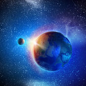 Planeta tierra — Foto de Stock