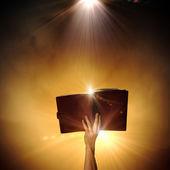 Livro mágico — Fotografia Stock