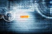 Código binario — Foto de Stock