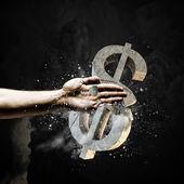 Dollar fehler — Stockfoto