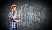 Concepto de construcción — Foto de Stock
