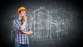 Construction concept — Foto Stock