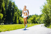 Sport girl — Stock Photo