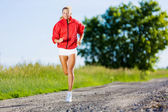 Sport girl — Foto de Stock