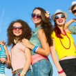 Stock Photo: Group of young people