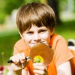 Boy in park — Stock Photo #41318299