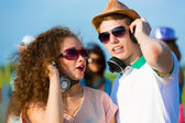 Young couple — Stockfoto