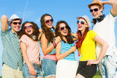 Group of young people — Foto de Stock