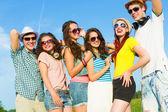 若い人たちのグループ — ストック写真