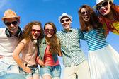 Bir grup genç insan — Stok fotoğraf