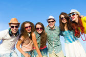 Group of young people — Stock Photo