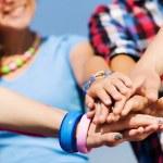 Friendship gesture — Stock Photo #41323337