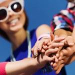 Friendship gesture — Stock Photo #41323663