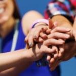 Friendship gesture — Stock Photo #41323715