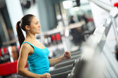 Cardio-training — Stockfoto
