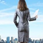 Woman secretary — Stock Photo #41796415