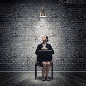расстроен предприниматель — Стоковое фото