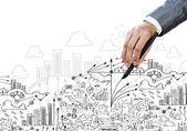 Strategy in business — Stock fotografie