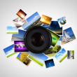 Photography concept — Stock Photo