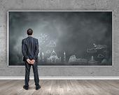 Educação de negócios — Fotografia Stock