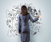 Building a business — Stock Photo