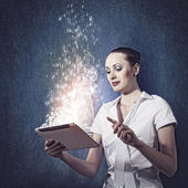 Internet addiction — ストック写真