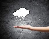 Raining weather — Stock Photo