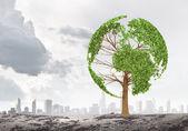 Ecology idea — Stock Photo