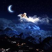 Night dreaming — Stock Photo