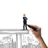 Conceito de construção — Fotografia Stock