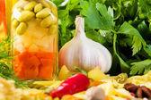 Cooking ingredients — Stock Photo