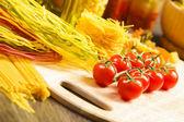 Cherry tomatoes — Stock Photo