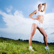 Stock Photo: Sport girl