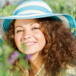 Stock Photo: Girl in hat