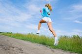 スポーツの女の子 — ストック写真
