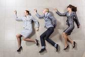 Funny businesspeople — Stockfoto