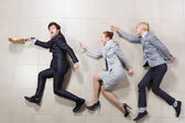 Funny businesspeople — Stock Photo