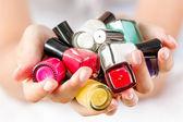 Nail polishes — Stockfoto