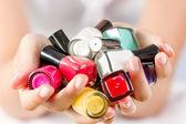 Nail polishes — Stock Photo