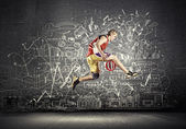 Basketball player — Stock Photo