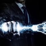 Power in hands — Stock Photo #50124139