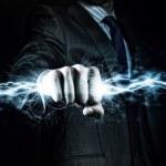 Power in hands — Stock Photo #50124267