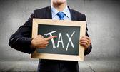 Tax pay — Stock Photo