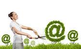 Notion de courrier électronique — Photo