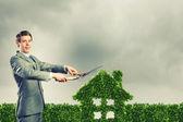 Ekologi koncept — Stockfoto