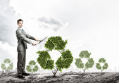 Recycle concept — Foto de Stock