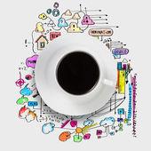 Kaffeezeit — Stockfoto
