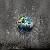 Around the world — Stock Photo