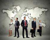 Gruppo di imprenditori — Foto Stock