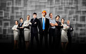 Group of businesspeople — Stock Photo